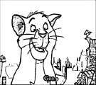 Disney The Aristocats Coloring Page 285