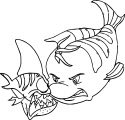 Disney The Little Mermaid 2 Return to the Sea Coloring Page 07