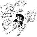Disney The Little Mermaid 2 Return to the Sea Coloring Page 41