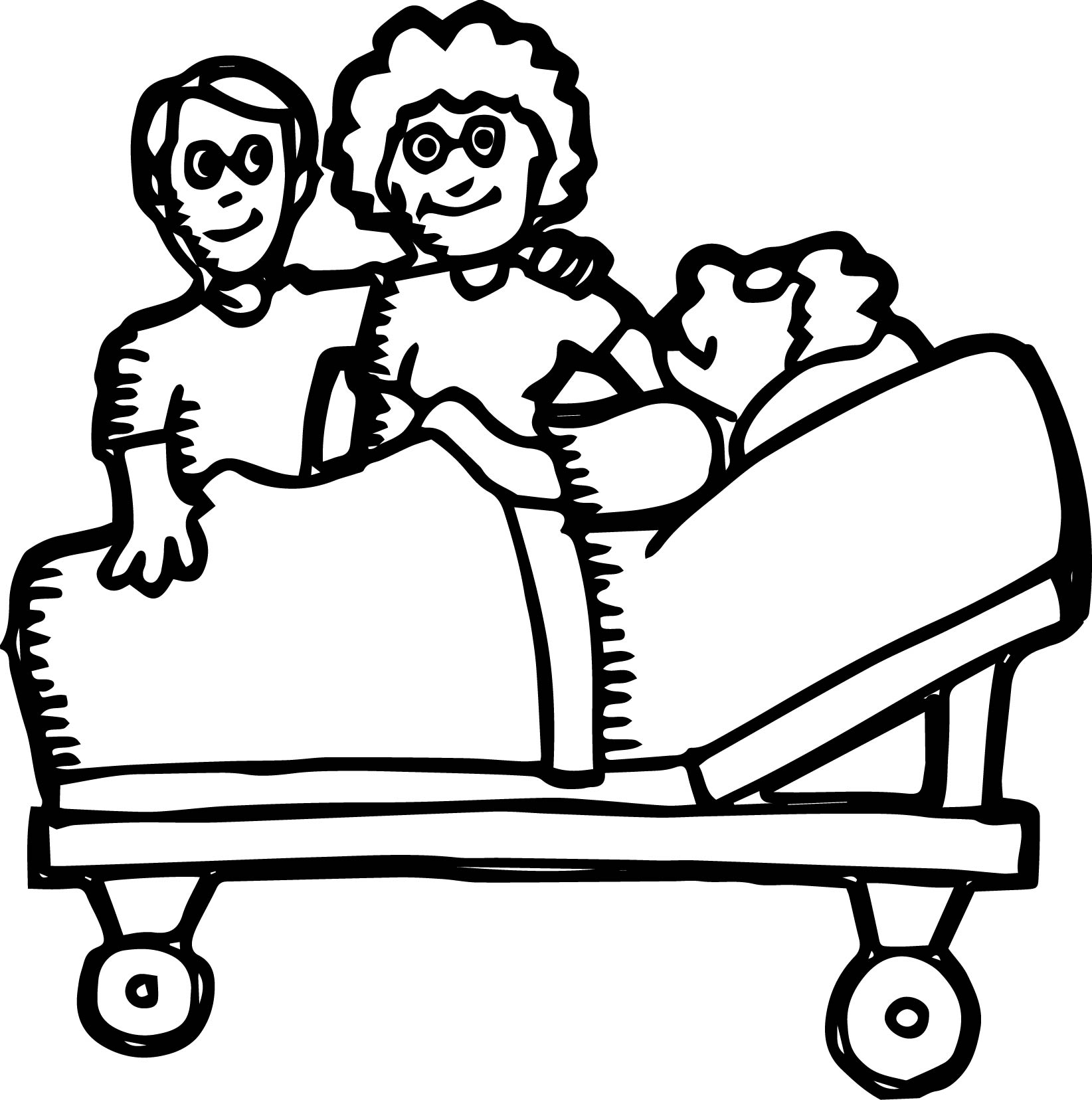 Doctor We Coloring Page 03