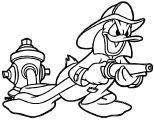 Donald Duck Coloring Page WeColoringPage 074
