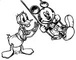 Donald Duck Coloring Page WeColoringPage 167