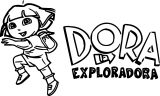 Dora Hd Images 3 Coloring Page
