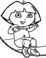 Dora S Outie Bellybutton Dora The Explorer Coloring Page
