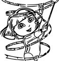 Dora The Explorer Coloring Page 07 02 2016 153153
