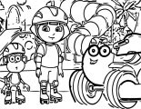 Dora The Explorer Coloring Page 07