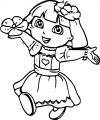 Dora The Explorer Coloring Page 10