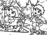 Dora The Explorer Coloring Page 29
