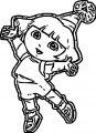 Dora The Explorer Coloring Page 42