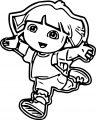 Dora The Explorer Coloring Page 50