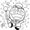 Doraemon Coloring Page 01