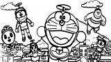 Doraemon Coloring Page  17