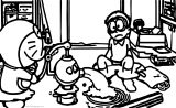 Doraemon Coloring Page  22