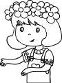 Drawing Amelia Bedelia Coloring Page