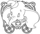 Dumbo Circus 2 Coloring Pages
