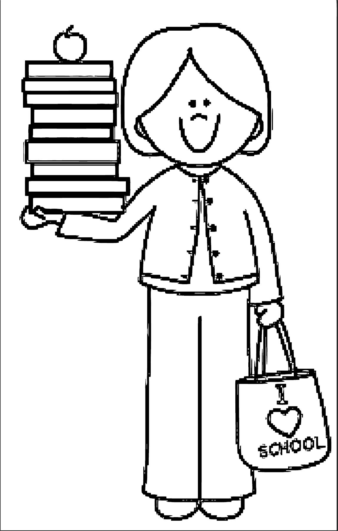 English Teacher We Coloring Page 071