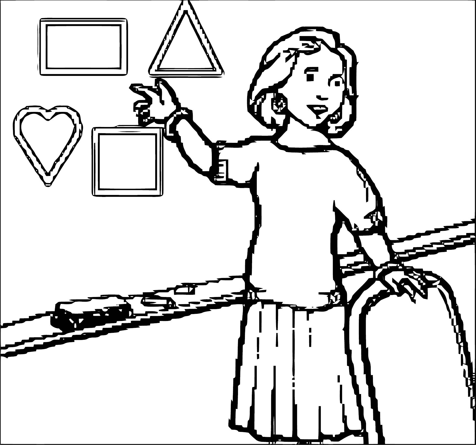 English Teacher We Coloring Page 090