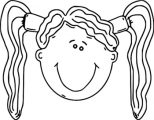 Face Happy Kids Face Free Images 025 Coloring Page