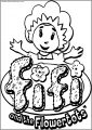 Fifi And The Flowertots Free A4 Printable Coloring Page