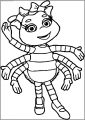 Fifi And The Flowertots Girl Bug Free A4 Printable Coloring Page