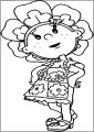 Fifi Me Free A4 Printable Coloring Page