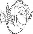 Finding Dory Coloring Pages 01
