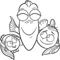 Finding Dory Coloring Pages 15