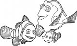 Finding Dory Coloring Pages 18