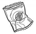 Gacha Life Empty Chip Bag Coloring Page