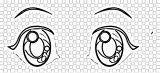 Gacha Life Free Download Eyebrow Coloring Page