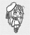 Gacha Life Girl Edit Draw A Gacha Life Coloring Page