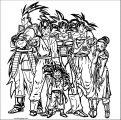 Goku We Coloring Page 012