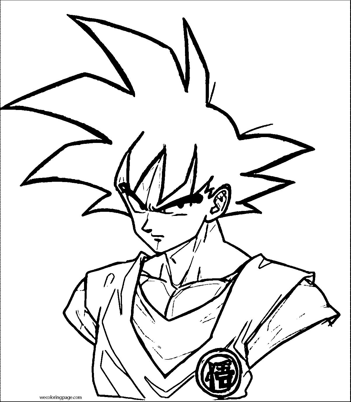 Goku We Coloring Page 018