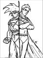 Goku We Coloring Page 022
