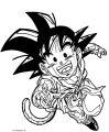 Goku We Coloring Page 032