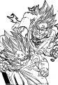 Goku We Coloring Page 034