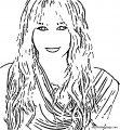 Hannah Montana Coloring Page 62