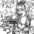 Hannah Montana Miley We Coloring Page 21