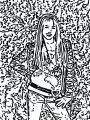 Hannah Montana Miley We Coloring Page 22