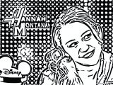 Hannah Montana Miley We Coloring Page 28