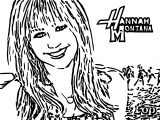 Hannah Montana Miley We Coloring Page 41