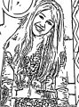 Hannah Montana Miley We Coloring Page 45