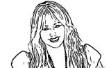 Hannah Montana Miley We Coloring Page 46