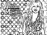 Hannah Montana Miley We Coloring Page 47