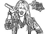Hannah Montana Miley We Coloring Page 50