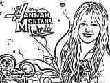 Hannah Montana Miley We Coloring Page 52