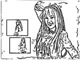 Hannah Montana Miley We Coloring Page 57