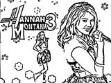 Hannah Montana Miley We Coloring Page 60
