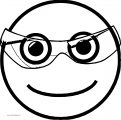 Happy Face Opacity Transparent Glass Coloring Page (2)