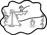Happy_Camping_Siluet_Coloring_page